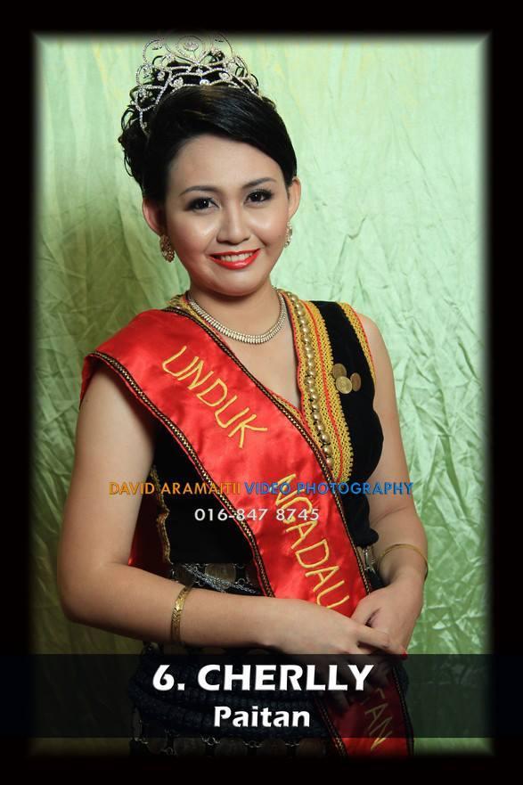 Unduk Ngadau Cherlly from Paitan 2013