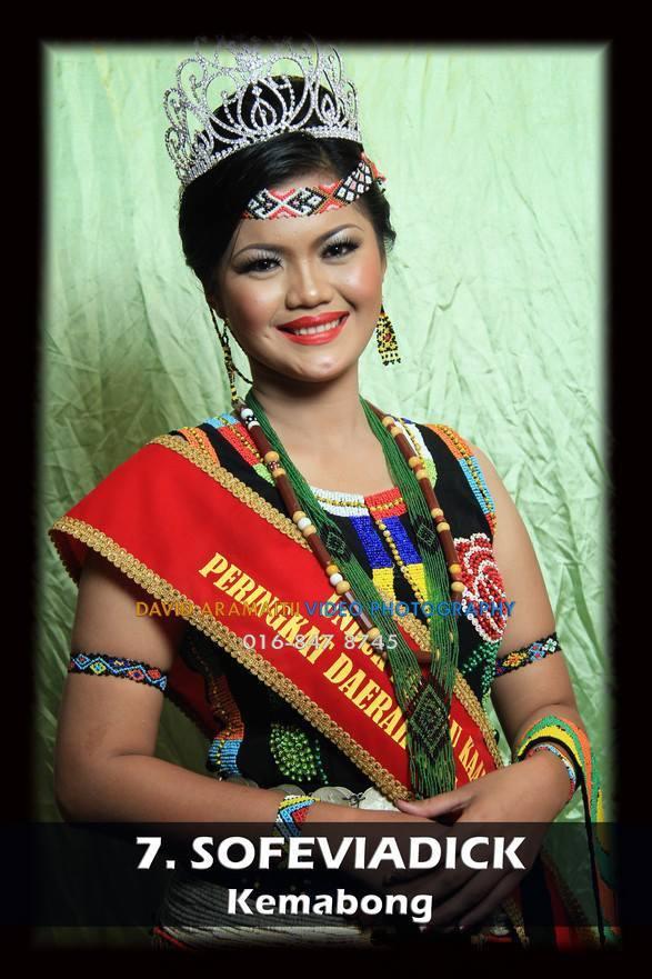 Unduk Ngadau Sofeviadick from Kemabong 2013