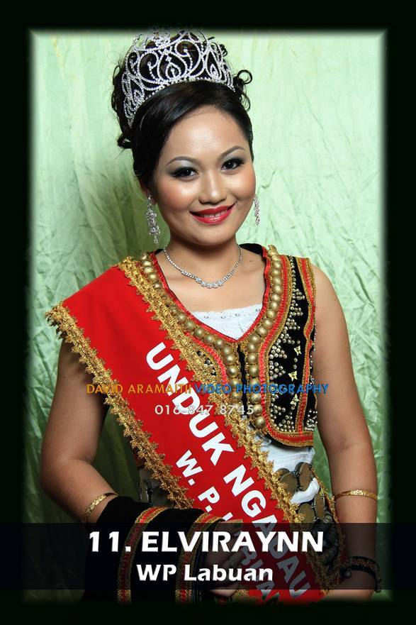 Unduk Ngadau Elviraynn for Labuan 2013
