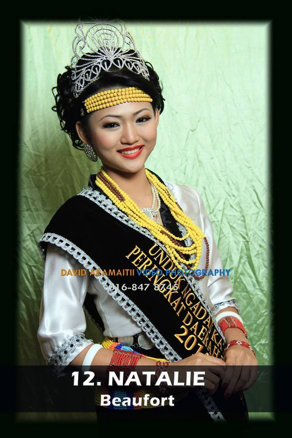 Unduk Ngadau Natalie from Beaufort 2013