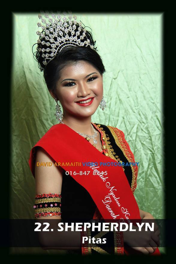 Unduk Ngadau Shepherdlyn from Pitas 2013