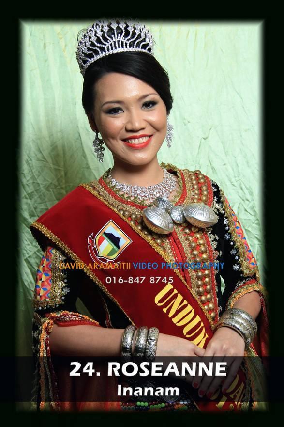 Unduk Ngadau Roseanne from Inanam 2013