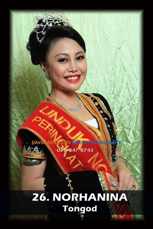 Unduk Ngadau Norhanina from Tongod 2013
