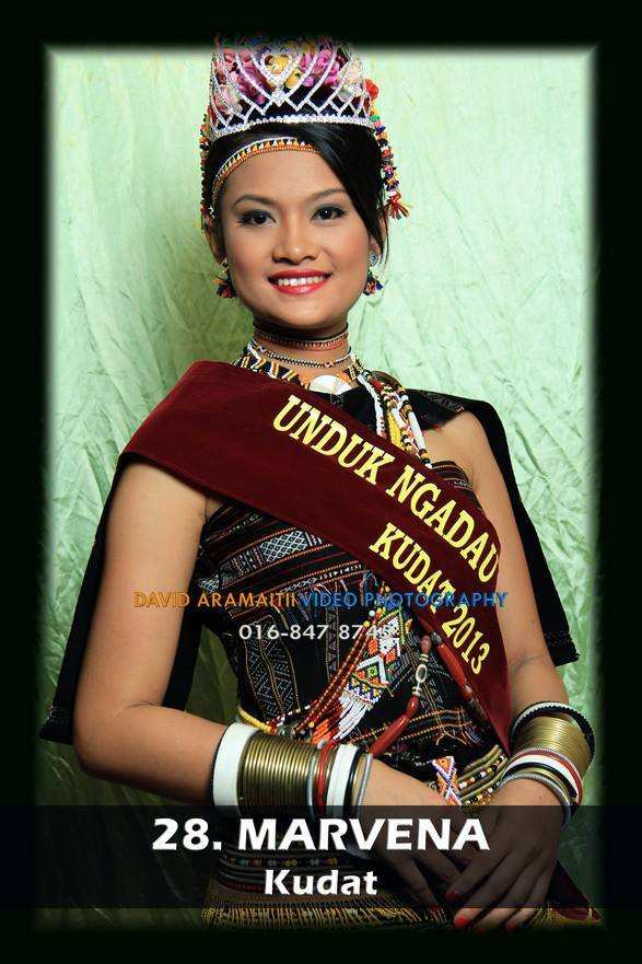 Unduk Ngadau Marvena from Kudat 2013