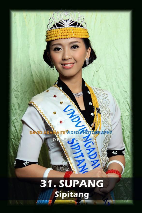 Unduk Ngadau Supang of Sipitang 2013