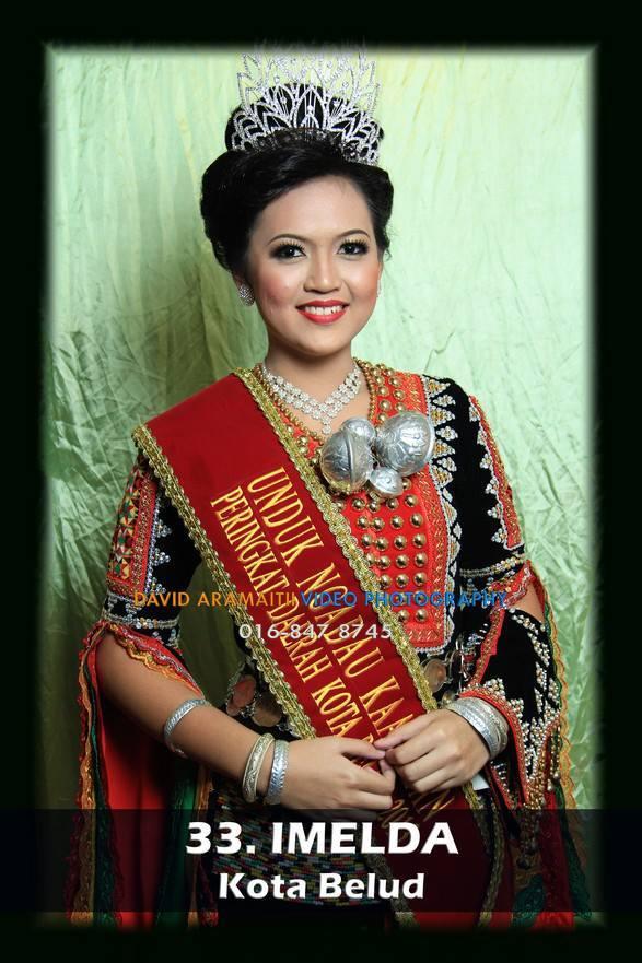 Unduk Ngadau Imelda of Kota Marudu 2013