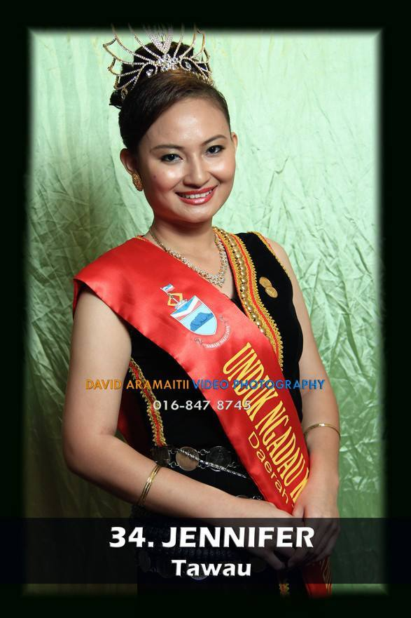 Unduk Ngadau Jennifer of Tawau 2013