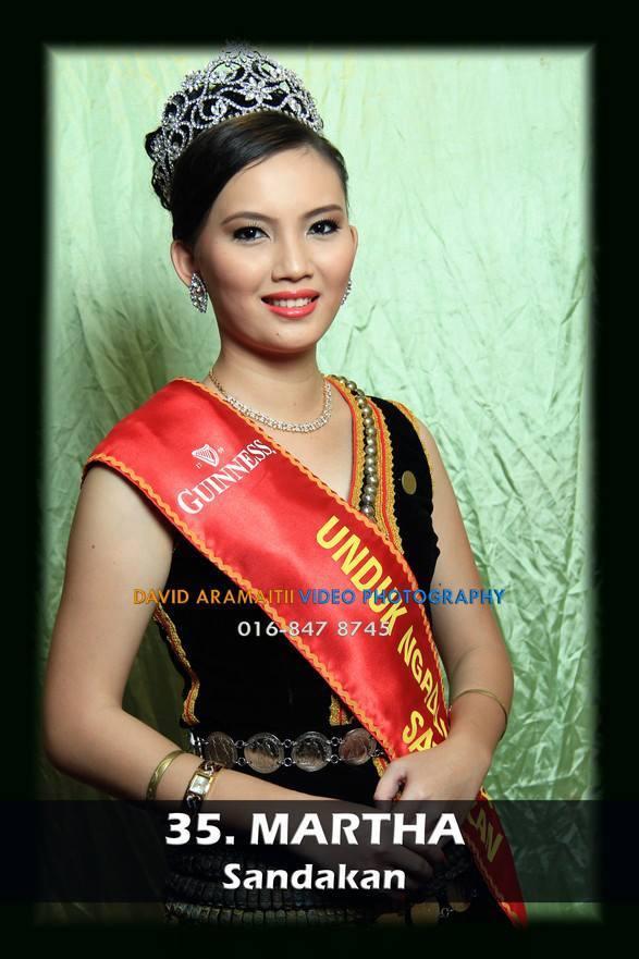 Unduk Ngadau Martha of Sandakan 2013
