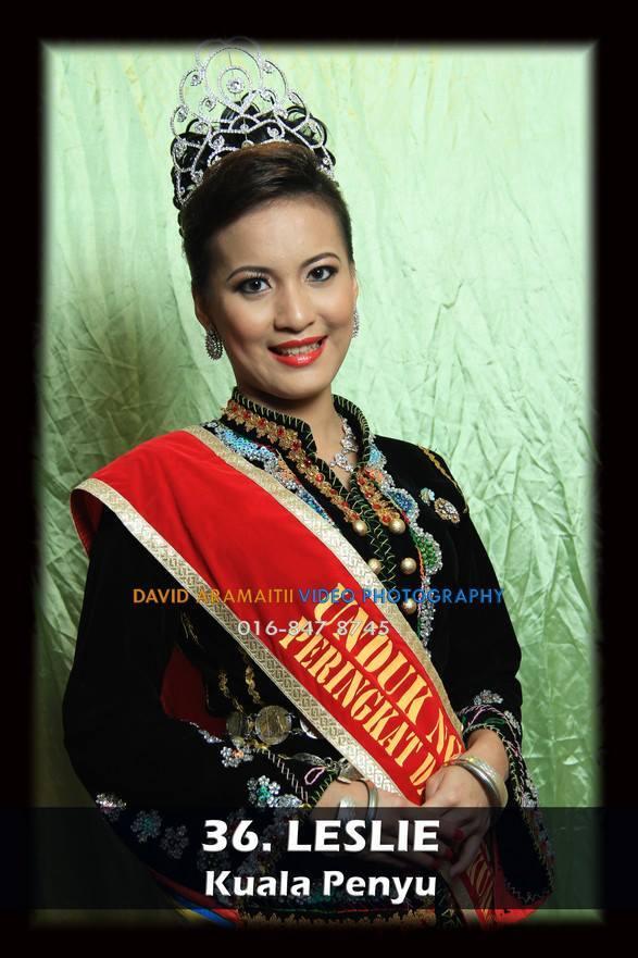 Unduk Ngadau Leslie of Kuala Penyu 2013
