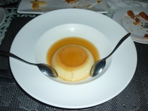 Creme brulee from Cabana Cafe