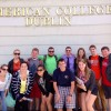 A student studying abroad with American College Dublin: Dublin - Direct Enrollment & Exchange