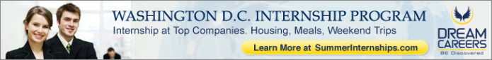 Dream Careers: Washington DC - Internship in Washington DC