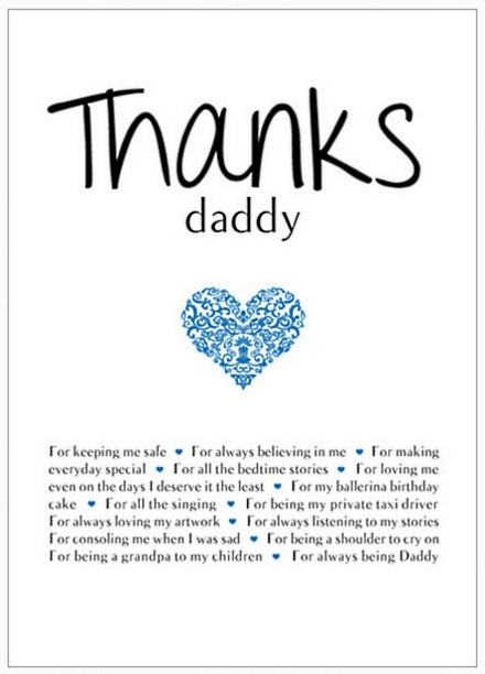 Personalised Thank You Poster
