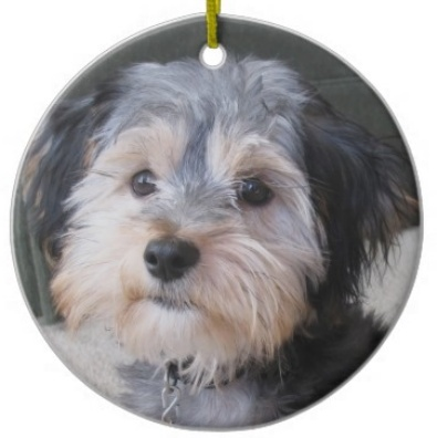 Personalized Dog Christmas Tree Ornaments