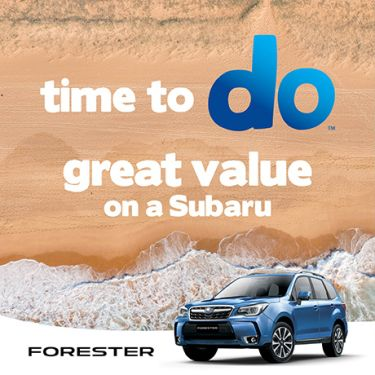 FORESTER MARCH OFFER + ADVENTURE PACK