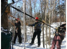 Canopy Adventure at Smugglers Notch