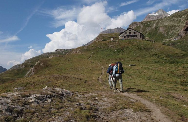 Hiking the Haute Route - Spectacular High Alps Traverse from Chamonix to Zermatt
