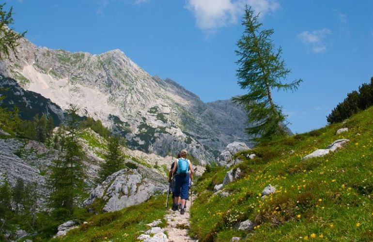 Hiking from the Julian Alps to the Adriatic Sea in Slovenia