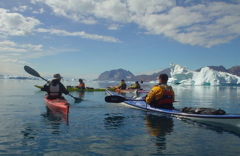 An Exclusive Paddling Expedition in the Remote Fjords of Greenland