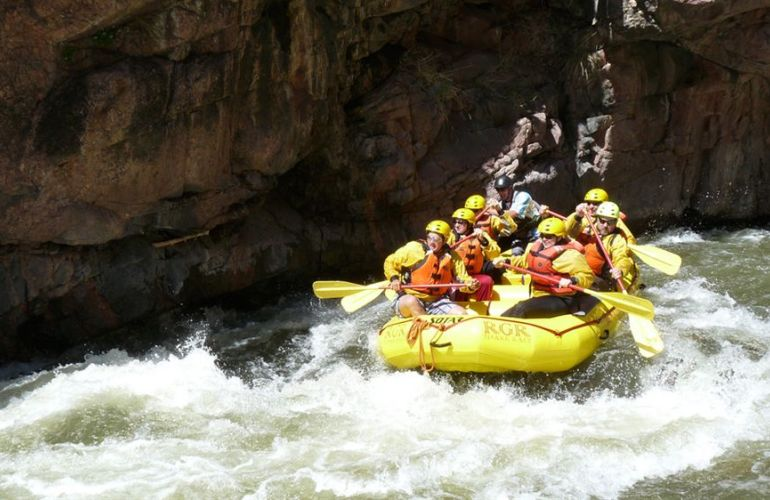 Granite Gorge Rafting
