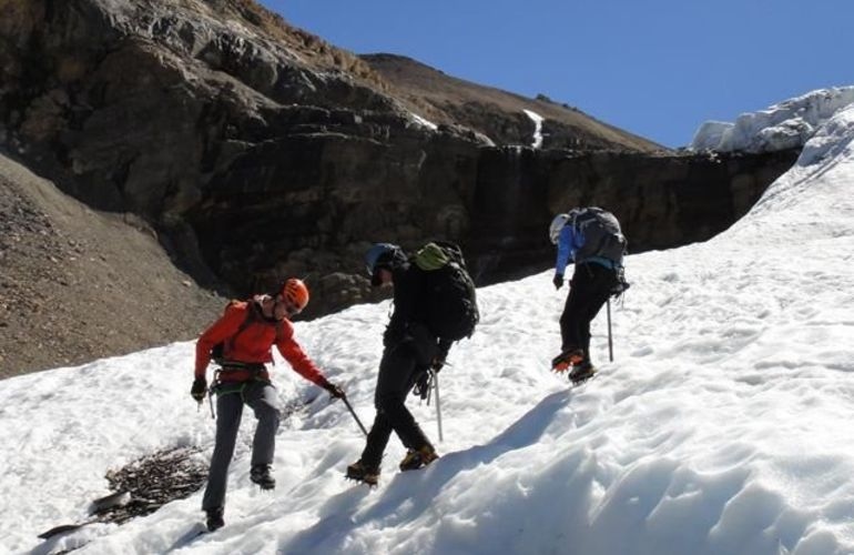 A Challenging Week of Youth Mountaineering Course