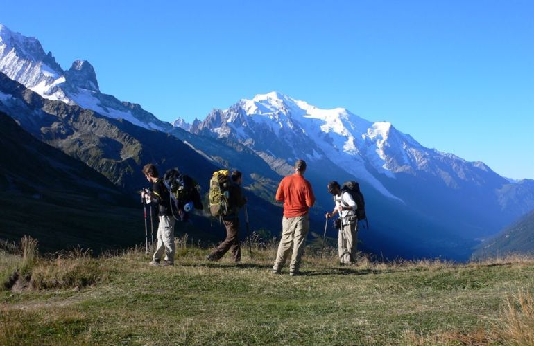 Guided Walking Tour of Mont Blanc (France, Italy & Switzerland)