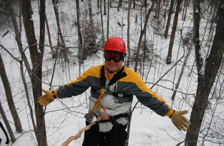 Wild Winter Ride Canopy Tour
