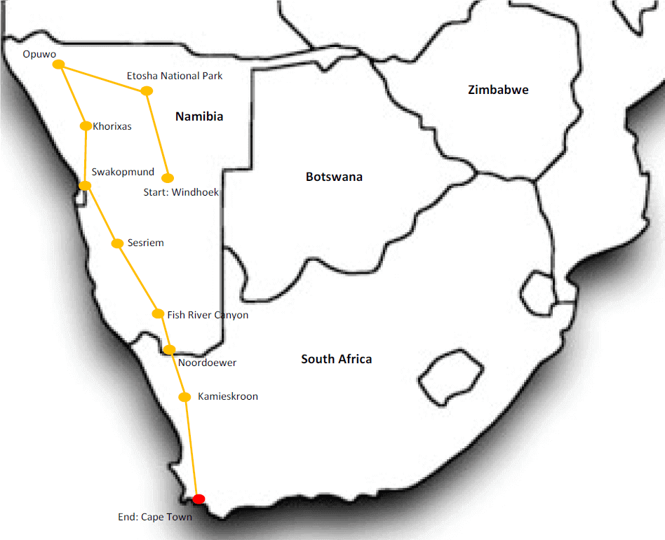 Exquisite Namibia & Beyond