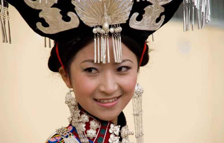 minority beauty liangshan