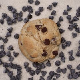 After Dark Cookies presents the Vegan Chocolate Chip cookie