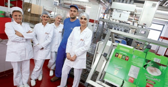 Radnici pogona praškastih proizvoda