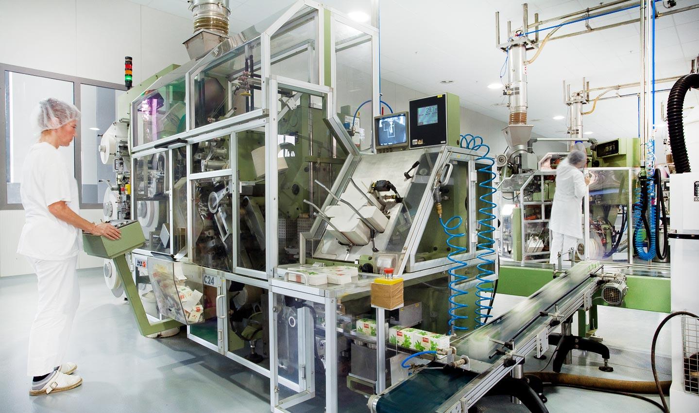 Moderni pogon za proizvodnju čajeva
