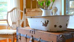Rustic home touch
