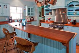 Wood in kitchen