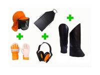 Kit de EPIs de Segurança para Roçadeira Tecmater