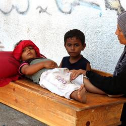 Hjelp barna i Gaza