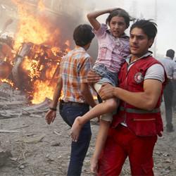 Vad som helst för Syrien