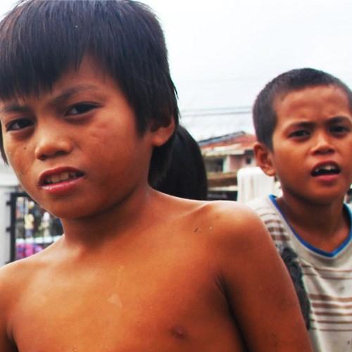 Barna på Filippinene