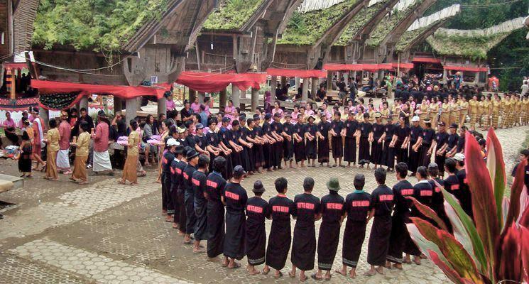 Toraja Funeral Ceremony Rambu Solo
