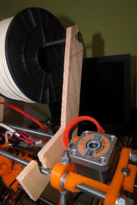 Enredinator primer soporte bobina contrachapado
