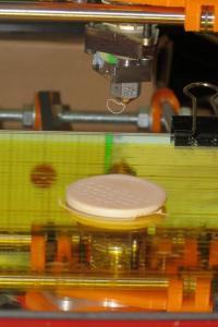 Primera impresión de Enredinator - Impresora 3D (Prusa IT2)