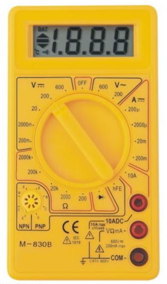 Multimetro M-830-B multimeter