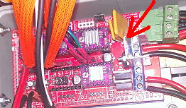 Disipador en el mosfet de la cama caliente - RAMPS - Prusa IT2