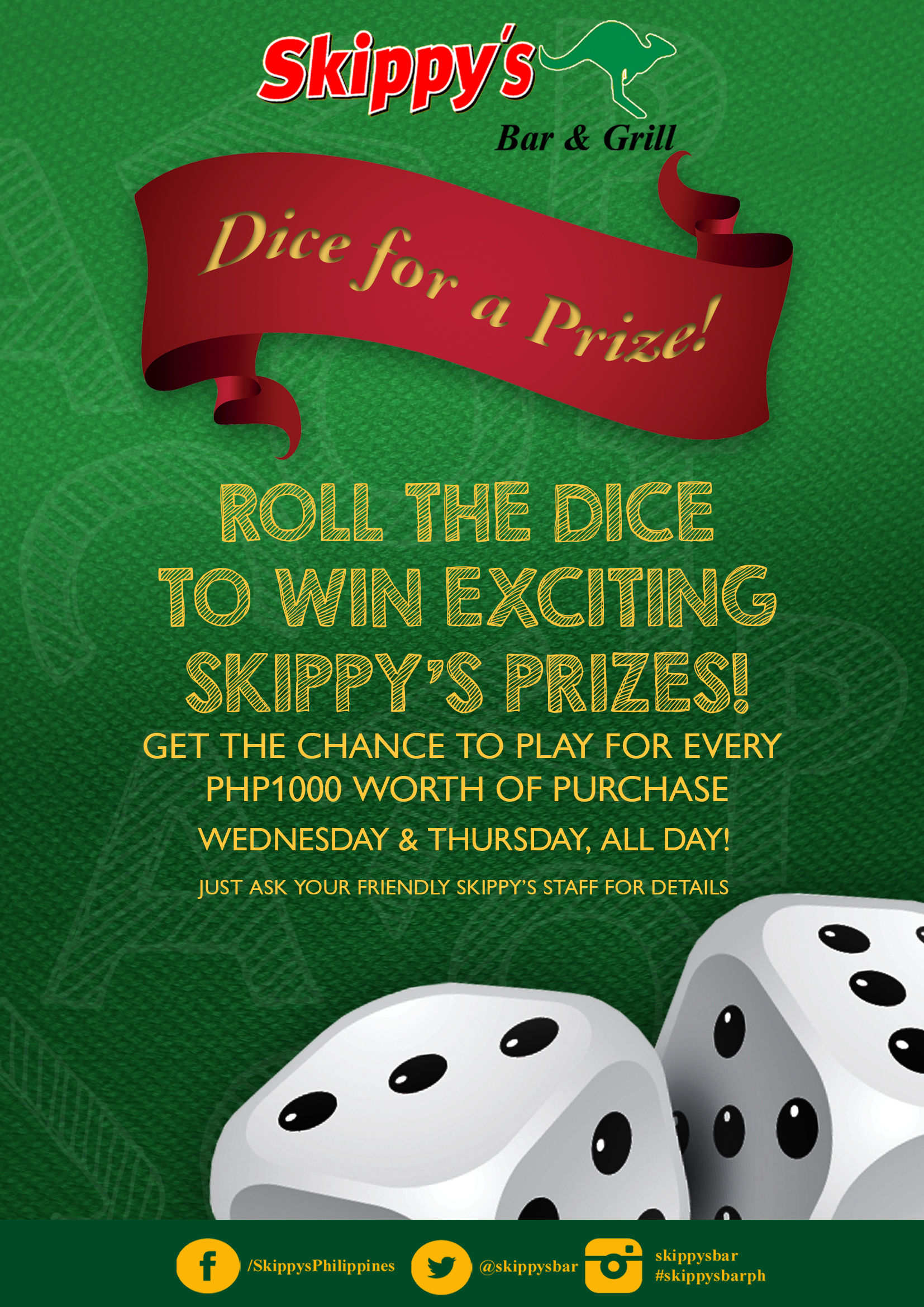 Dice for a Prize!