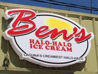 Ben's Halo Halo Ice Cream