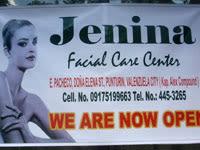 Jenina Facial Care Center Valenzuela