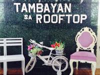 Tambayan Sa Rooftop Garden Cafeteria