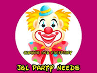 Clowns And Facepaint J&L PARTY NEEDS