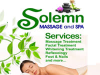 Solemn Massage and Spa Marulas Branch