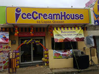Ice Cream House sa Lopez Quezon